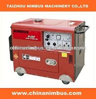 old factory semi-automatic Diesel Generators single bearing brushless alternators with avr