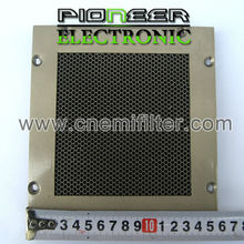 300x600mm, steel EMI Honeycomb filter for shielding room with EMC shielding room shield 3d honeycomb