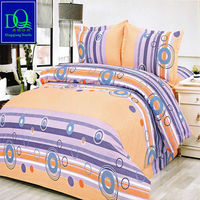 Wholesale Soft Fabric Plaid Bedding Set China Home Textile Polar Leopard Solid&Printed 100% Polyester Warm and Cool Blanket