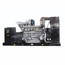 Diesel electricity 1000 kw generator powered with Perkins engine