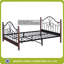 King Size 2 Adult Double 2016 Modern Latest Iron Bed Designs