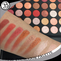 New No Brand Wholesale Makeup 35 colors eyeshadow palette packaging