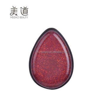 Meidao New design silicone gel powder puff glitter makeup blender sponge for beauty