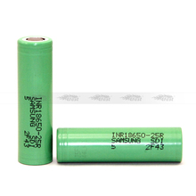 INR18650-25R Green Color Samsung 25R 25R5 18650 2500mAH battery wholesale