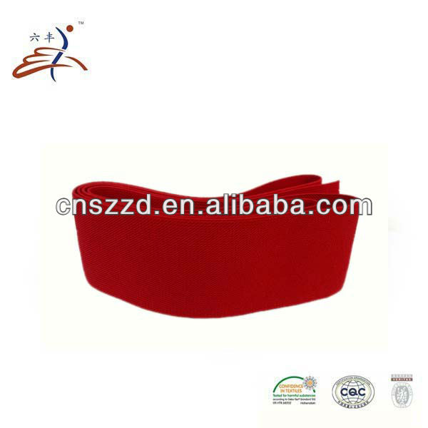 Color Wide Elastic Band/Tape/Webbing/Strap/Waistband