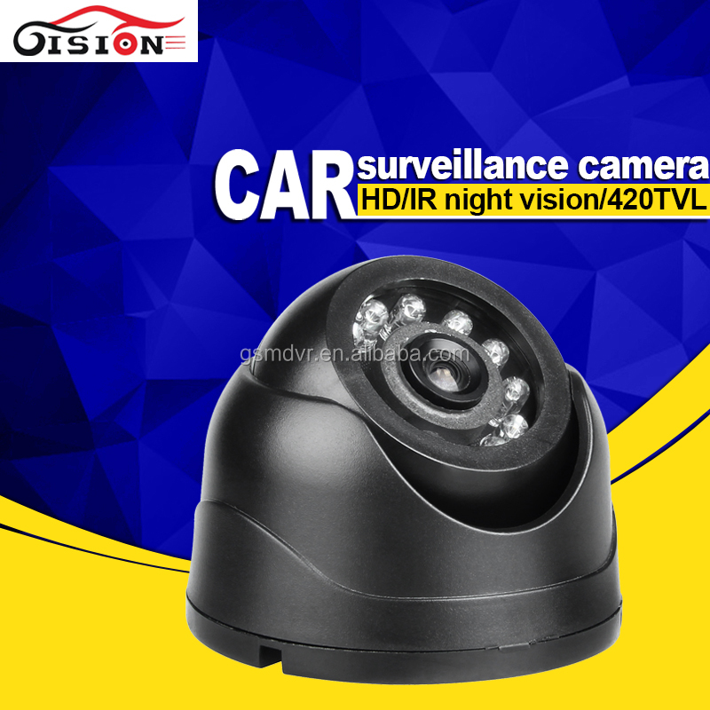 Car Surveillance Camera System 24Pcs LED Night Vision Infrared MINI Plastic Dom Sony CCTV Camera