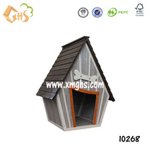 Customized wooden prefab dog house for outdoor usage