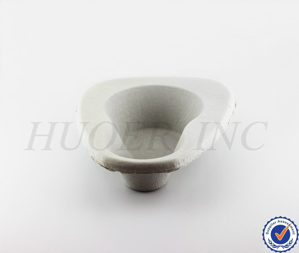 Medical Use Biodegradable Bedpan Urinal/Disposable Urinal/Male Urinal