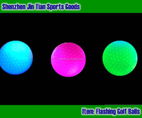 Shining Lighted Golf Led Multi Color Bouncing Ball