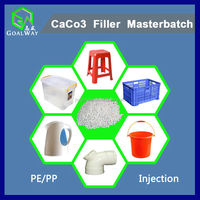 Wholesale caco3 reduce cost filler masterbatch for blowing/ injection (for PP/PE Injection)