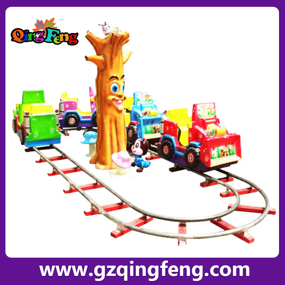 Qingfeng mini electric train indoor shopping mall mini trackless train carnival rides