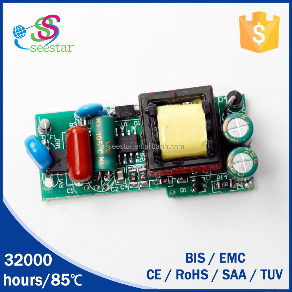 BIS is pending open frame 36v led driver with 600mA DC27-36V 12w with high PF efficiency