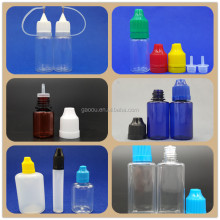 Plastic Material and Liquid Medicine Use Child resistance water/air tight child proof dropper bottle