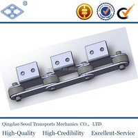 M32A1.2-P50 M series conveyor steel chain with A1 attachment