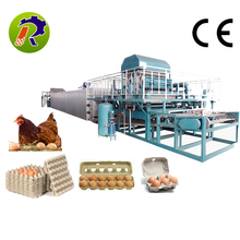 Full-automatic 1000-3500pcs/h paper pulp egg tray machine