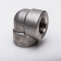 Forged high pressure threaded female 90 degree swivel elbow