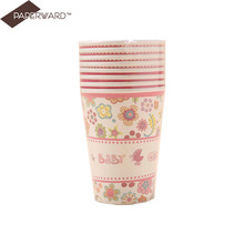 Various shapes disposable hot coffee cup paper souffle cups