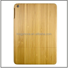 For iPad air bamboo wood case, wooden case for iPad air factory price