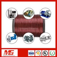 Free Sample 130-220Class Aluminum Copper Enameled Wire For Welding Machine