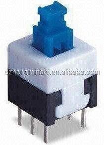 lock type push button switch 5.8*5.8/ 7*7 /8*8 /8.5*8.5....