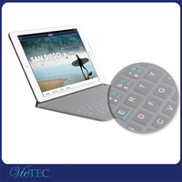 Super thin newest design for ipad air 2 mini pro wireless bluetooth keyboard case