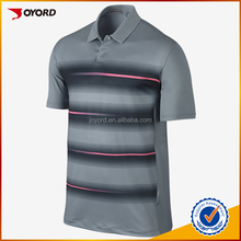 free design sublimation printed sports golf polo shirt apparel
