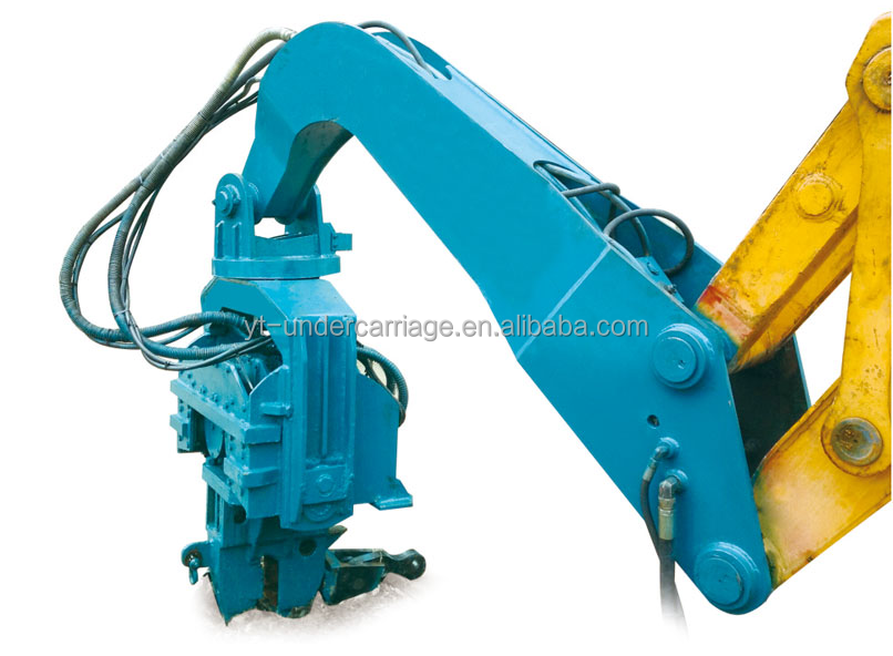 Excavator Mounted Hydraulic Vibro Hammer Vibratory Sheet Pile Driver