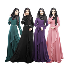 X86517A new model latest design women muslim long maxi dress pictures