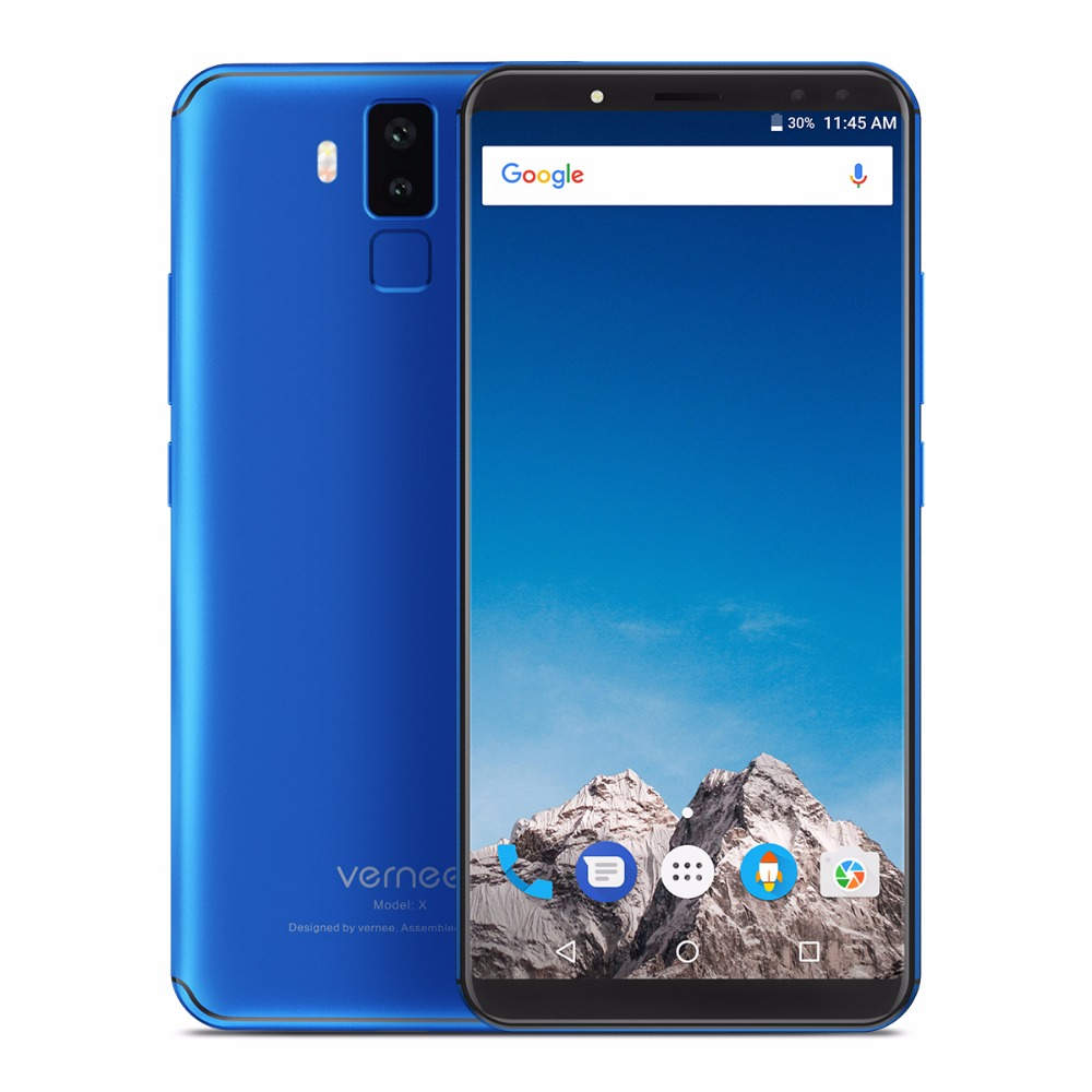 New product Vernee X 64GB Face & Fingerprint Identification 6.0 inch <strong>Android</strong> 7.1 mobile <strong>phone</strong> with 6200mAh Battery