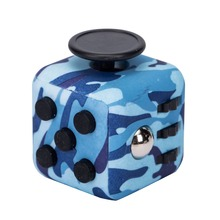 Current Stocking 6 sided magic Fidget Cube wholesale price with camouflage in 2017.