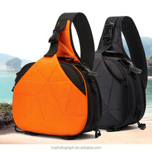 2017 New Product Waterproof Nylon Triangle Photo Camera Shoulder Bag