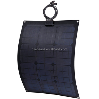 Good price 30w flexible sunpower solar panel for outdoor camping