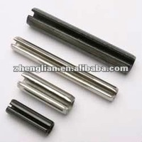 zinc plated slotted type spring pin