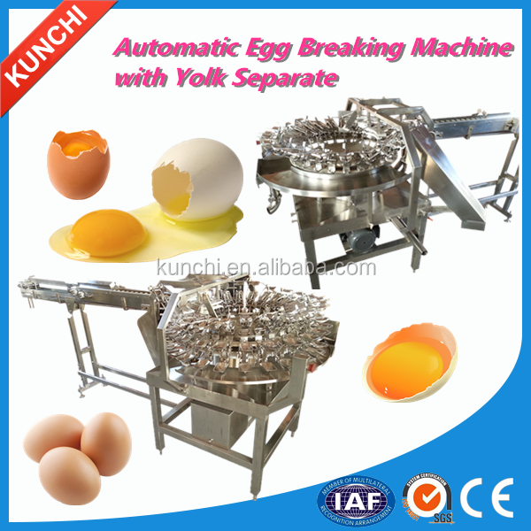 commercial complete plant egg yolk and white separating machine with high technology and high liquid extraction rate