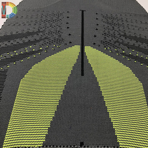 fly knit shoe upper fabric material