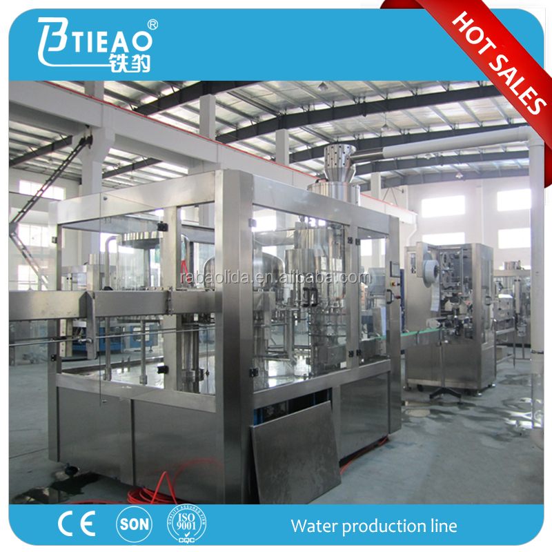 complete Bottle water production line,juice production line,soda water