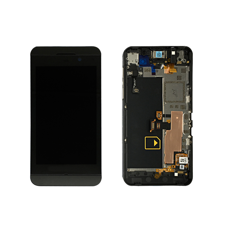 Original mobile phone lcd <strong>touch</strong> <strong>screen</strong> digitizer assembly for blackberry <strong>z10</strong> lcd