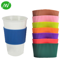 Heat Resistant Custom Silicone Coffee Cup Sleeve