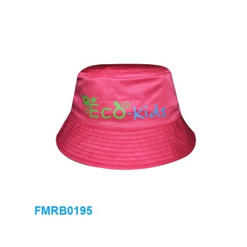 Premium eco friendly recycled PET rpet child caps lovely kids bucket hat