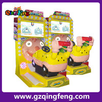 Qingfeng go kart with screen kiddy ride amusement rides/amusement park toys coin operated kids ride machine