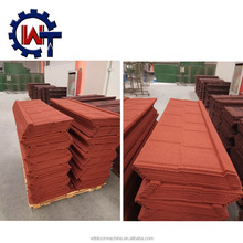 Low cost galvanized stone coated metal roof tiles