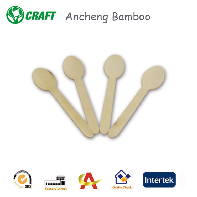 Miniature Bamboo Wooden Spoon ,Forks ,Knife