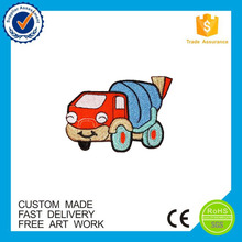 Embroidered process good quality baby garment car patch customized