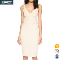 Sleeveless Dress White Fashion Trendy Summer Party Dresses For Women