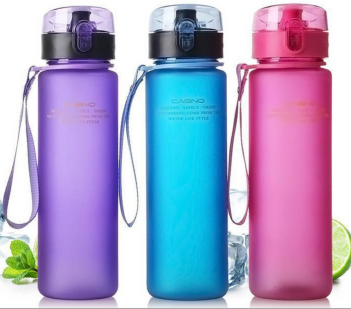 personalized custom made plastic water bottle in china