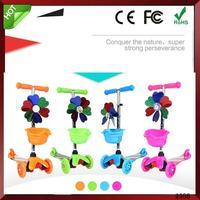 Foot Kick Standing Folding 5in1 CE Approved 2013 Hot Model Mini Scooter With Seat