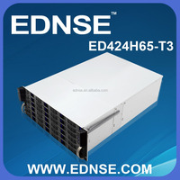 ED424H65-T3-E EATX 4U Server Case with 24 Drive Bay Hot Swap