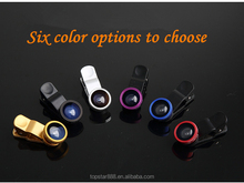 New product mobile phone camera lens 3 in 1 Universal Fish Eye Lens+Macro+Wide Angle Lens