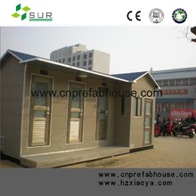 Prefabricated House with Colored Steel Sandwich Panel and Mineral Wool Acoustic Ceiling