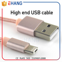 Made in China perfect compatible micro cable for iphone charger usb cable
